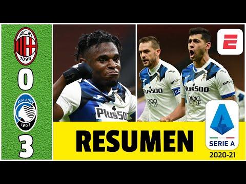 AC Milan 0-3 Atalanta. Cristian Romero y Duván Zapata brillaron en la goleada al líder | Serie A