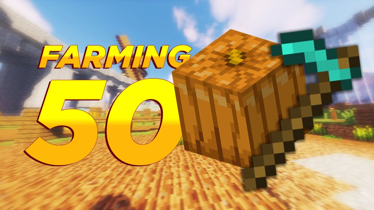 How long does it take to get farming lvl 50 (Hypixel Skyblock)