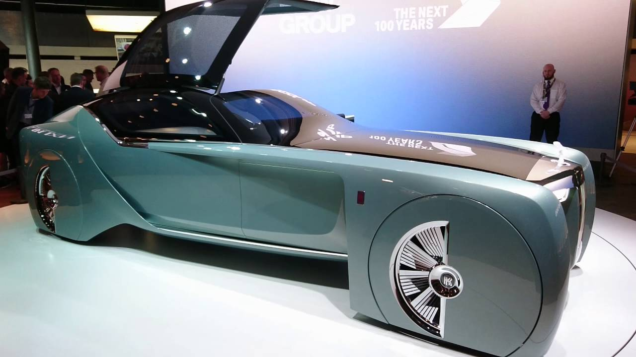 Luxury Car Vision >> Rolls-Royce Vision Next 100 concept - YouTube