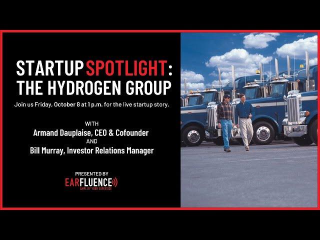 Startup Spotlight: The Hydrogen Group