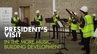 President's Visit 2019: First Performance in the More Music Building Development