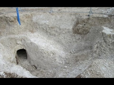 Drone footage shows 'unique' network of WW1 tunnels found under Salisbury Plain