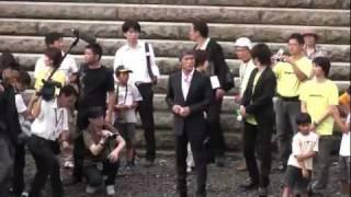 原爆ドームの対岸で、吉川晃司さんが来られていたのを偶然撮影した。 なんで40過ぎて、あんなにカッコいいのだろうか・・・。