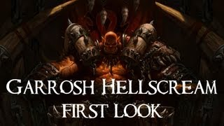 Garrosh Hellscream 5.4 PTR First Look (10 Normal)
