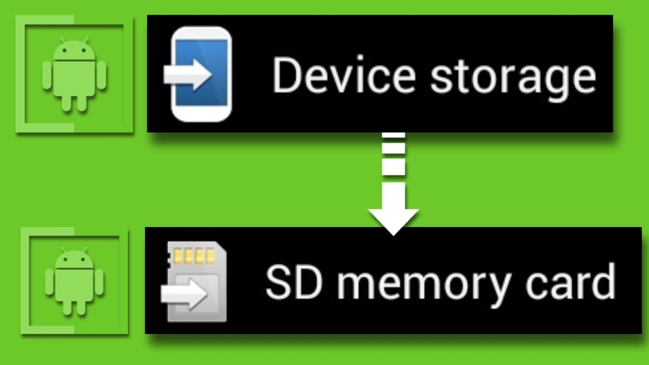 How To Change Default Location Sd Card In Android