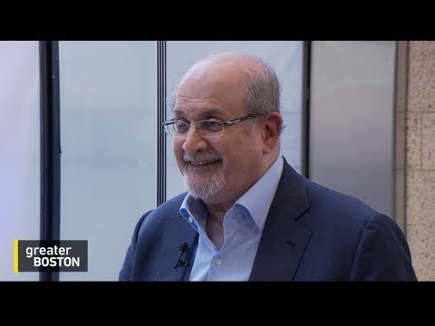 Salman Rushdie On His New Novel, A Reality-Bending Journey Through Trump's America