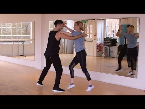 First Steps: Laura Whitmore and Giovanni Pernice  Strictly Come Dancing 2016  BBC One