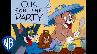 Tom & Jerry | It's Party Time! | Classic Cartoon | WB Kids