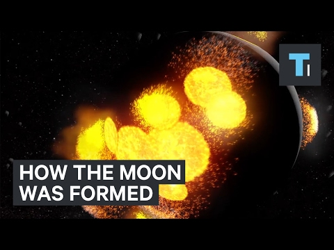 theories on how the moon was formed Various theories have been proposed to explain how the moon formed the most  widely accepted scenario begins shortly after the earth formed about 46 billion.