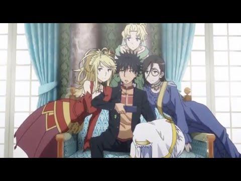 Kamijou Touma and his Royal Harem!