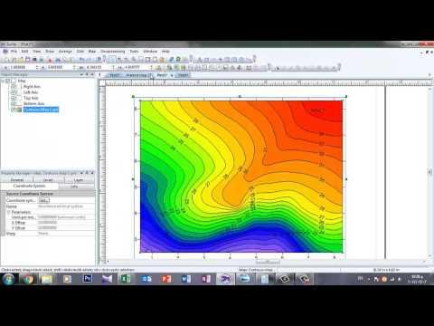 Surfer 8 tutorial pdf