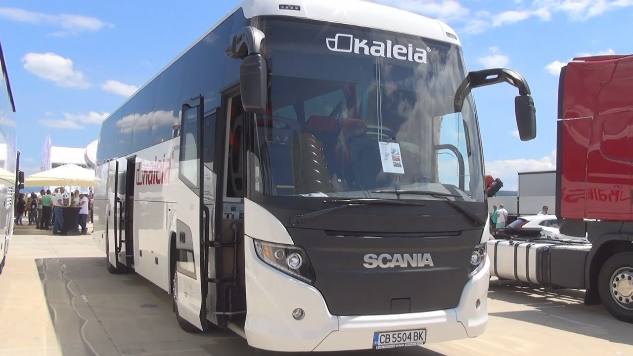 Scania Touring Euro 6 Bus (2016) Exterior And Interior In 3D   YouTube
