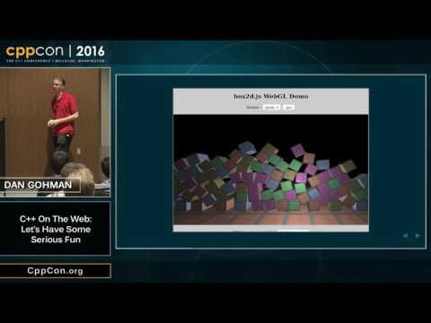 "CppCon 2016: Dan Gohman ""C++ on the Web: Let"