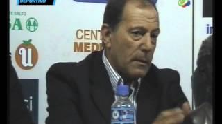conferencia liga salteña de fútbol   presentación Ramón Rivas
