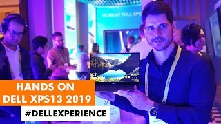 HANDS-ON: DELL XPS13 na CES 2019 #DellExperience