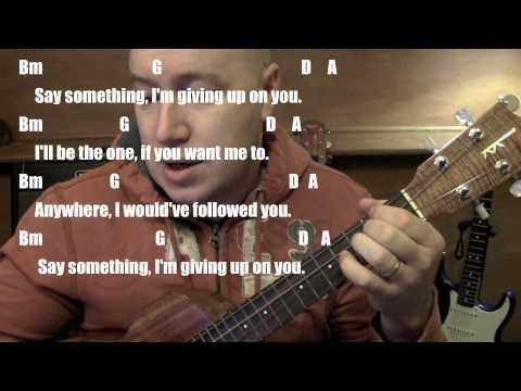 Say Something ★ Ukulele Lesson ★ A Great Big World ft Christina Aguilera★(Todd Downing)