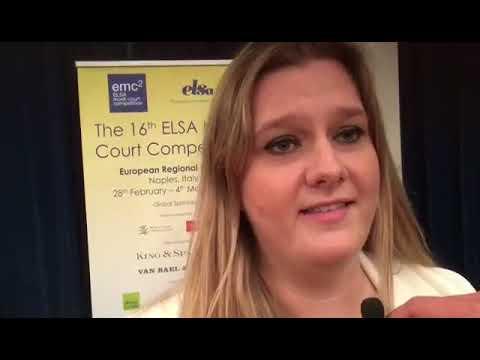L'ELSA Moot Court Competition, a Napoli dal 28 febbraio al 4 marzo 2018