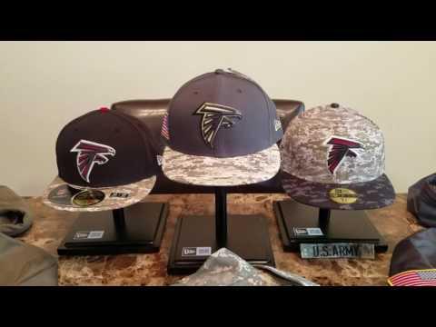 New Era 2016 Atlanta Falcons Salute To Service Hat