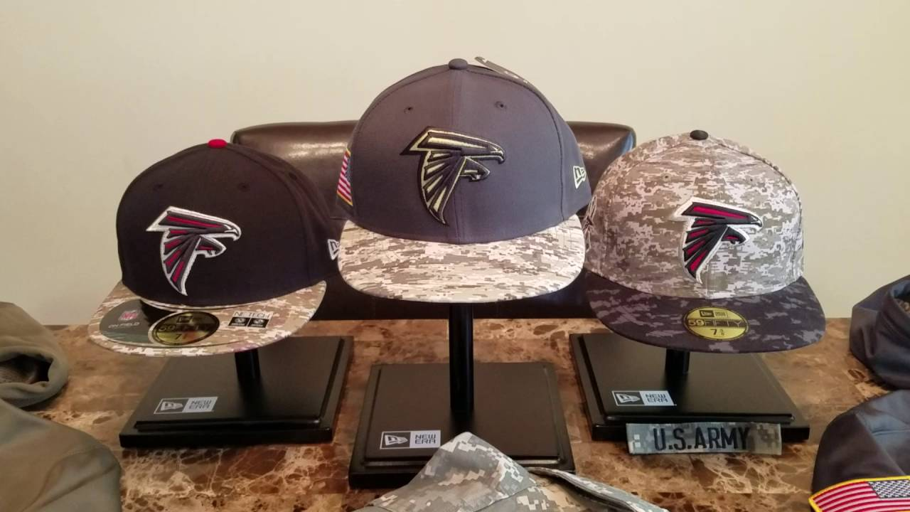 New Era 2016 Atlanta Falcons Salute To Service Hat - YouTube 38b9a72c50e