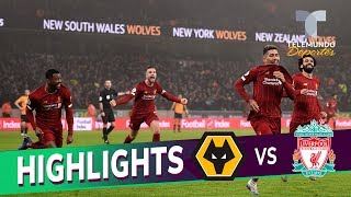 Wolverhampton vs. Liverpool: 1-2 Goals & Highlights | Premier League | Telemundo Deportes
