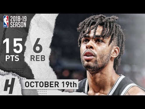 DAngelo Russell Full Highlights Nets vs Knicks 20181019  15 Pts, 6 Assists!