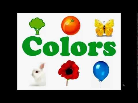 Вчимо кольори. Розвиваючі мультфільми для дітей українською мовою