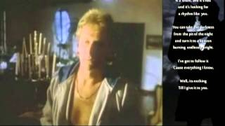 Air Supply - Making Love Out of Nothing at All (with Lyrics)