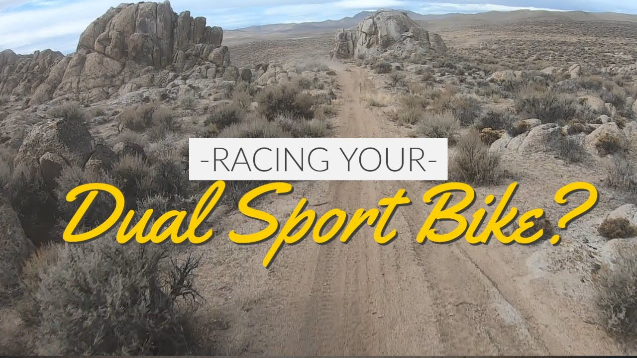 Race your Dual Sport Bike?