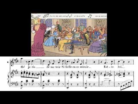 """Caballé: """"Ah! je ris de me voir si belle"""", aria de las joyas, de Fausto. Gounod"""