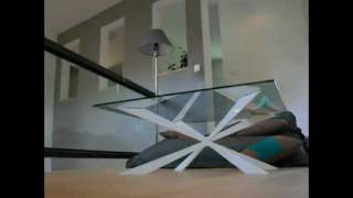 Coffee Table Modern Sculptural Art Furniture French Design By Benjamin Auzier