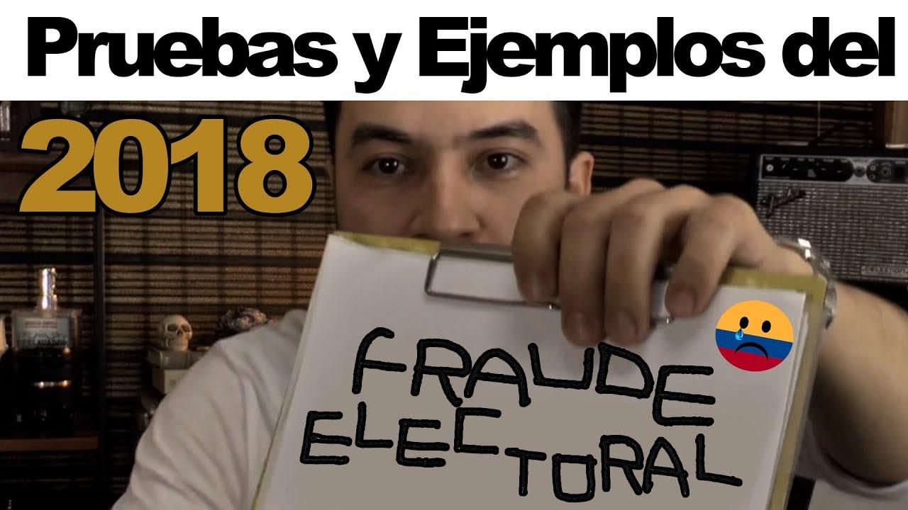 1688671f65014 Fraude Electoral Elecciones Presidenciales Colombia 2018 - YouTube