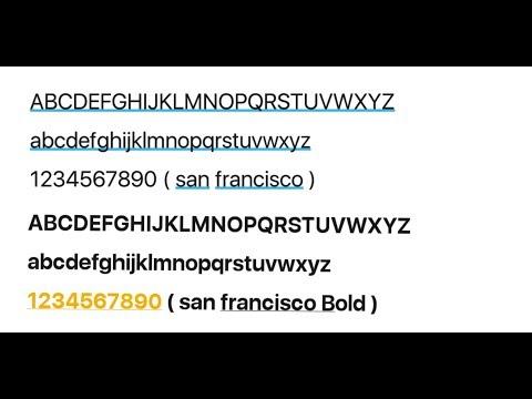 Cara Install Font Ios Di Android ( No Root)