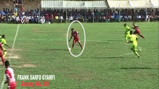 FRANK SARFO GYAMFI: Sublime Passes, Skills, Goals.......