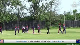 LIVE CRICKET - USA U19 vs Cayman islands U19 - ICC Americas U19 World Cup Qualifiers