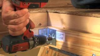 Werner Wood Attic Ladders - Short Installation Video