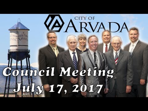 City Council Meeting - July 17, 2017