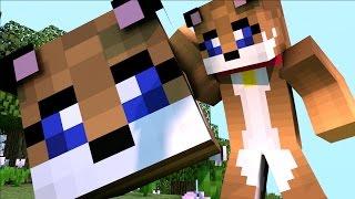 Minecraft - PIRÂMIDE DE LUCKY BLOCK DO PUUPPYY - MINI GAME PVP