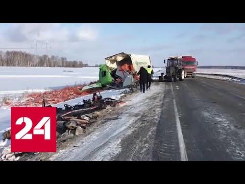 Первый снегопад ноября: в Новосибирске - сотни аварий с жертвами и пострадавшими - Россия 24