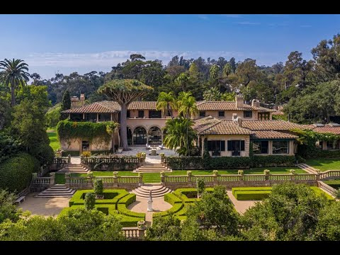 Prestigious Historic Estate in Montecito, California | Sotheby's International Realty
