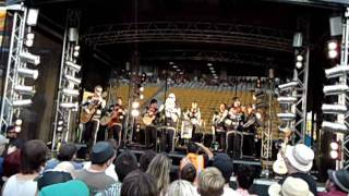 Mariachi El Bronx - 48 Roses (Live) - Big Day Out 2012 Auckland