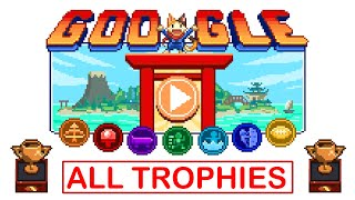 FULL WALKTHROUGH w/ timestamps: Google Doodle Champion Island Games (check description)