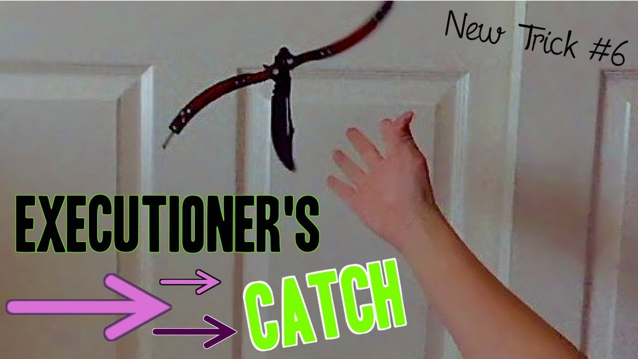 Executioners Catch Intermediate Subscribers Trick Submissions 6 Balisong Tricks