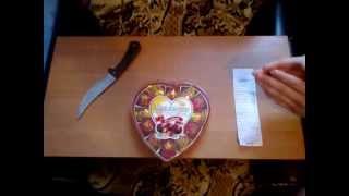 Развод с конфетами  с орешком  без