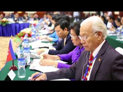 Laos, Cambodia, Vietnam parliaments vow development push.