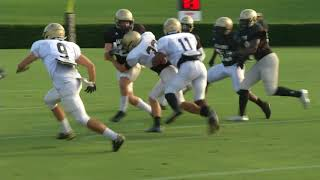 Wofford Completes 2nd Scrimmage