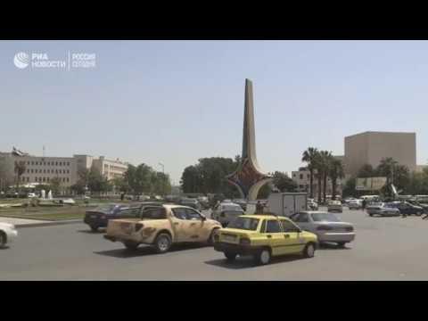 Ситуация в Дамаске после удара по Сирии