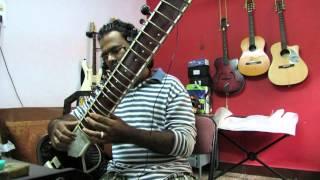 Raag Kafi Sargam Fusion on Sitar Pravin Jadhav)