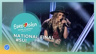 Zibbz - Stones - Switzerland - National Final Performance - Eurovision 2018