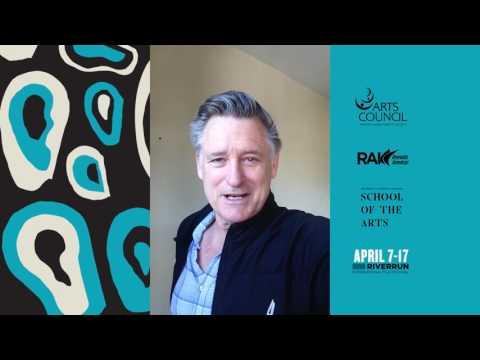 Bill Pullman welcome video at 2016 RiverRun International Film Festival