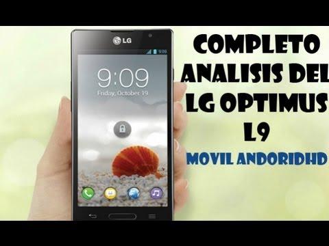 Completo analisis de LG Optimus L9 en Español y HD